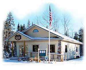 Mackinaw Township Hall - Winter 2005